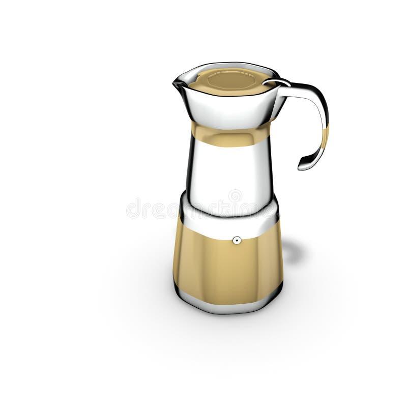 moka espresso иллюстрация вектора