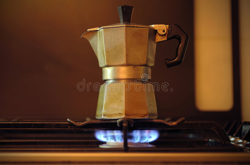 Moka italiano foto de stock royalty free