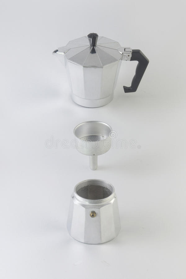 Moka Pot royalty free stock photography