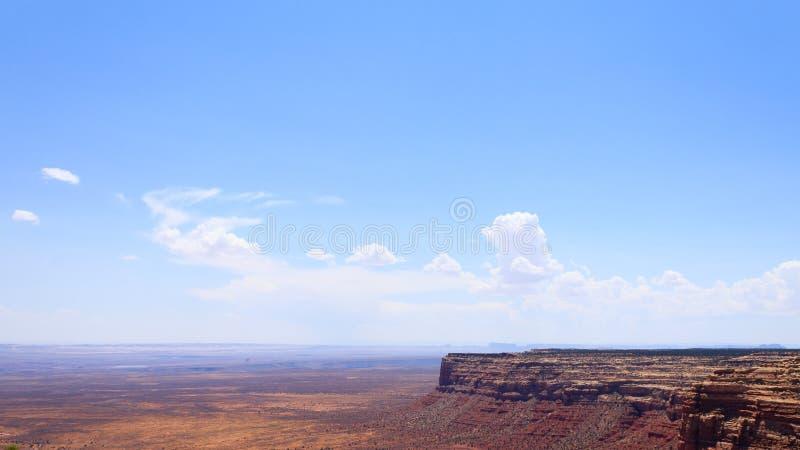 Moki Dugway, Muley punkt förbiser royaltyfri fotografi