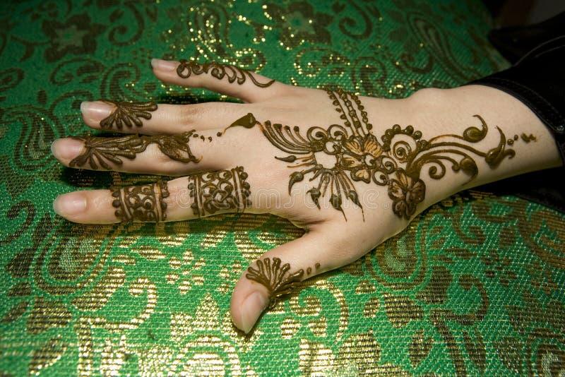 Download Mokre ręce henny obraz stock. Obraz złożonej z arabel - 4758887