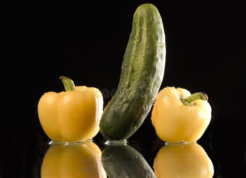 mokre warzyw zdjęcia stock