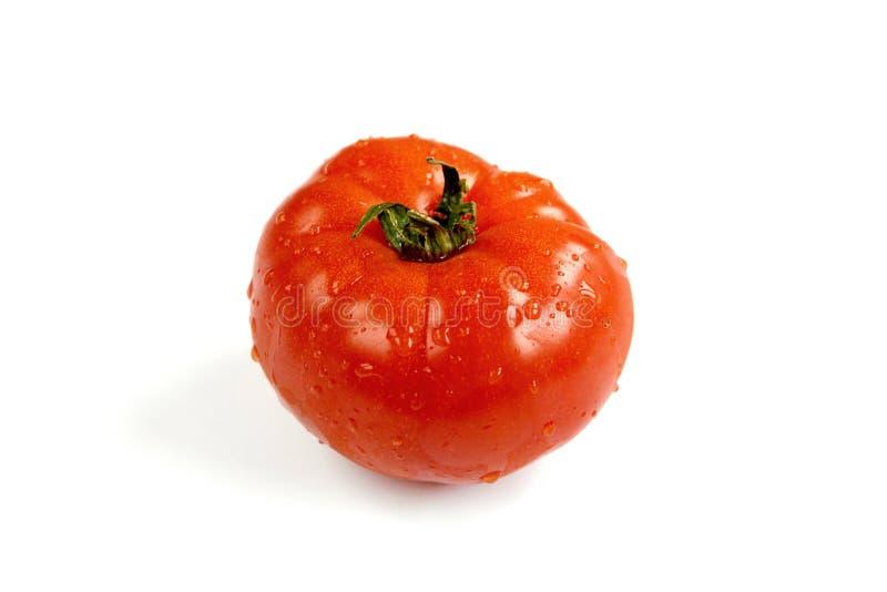 Mokry świeży pomidor