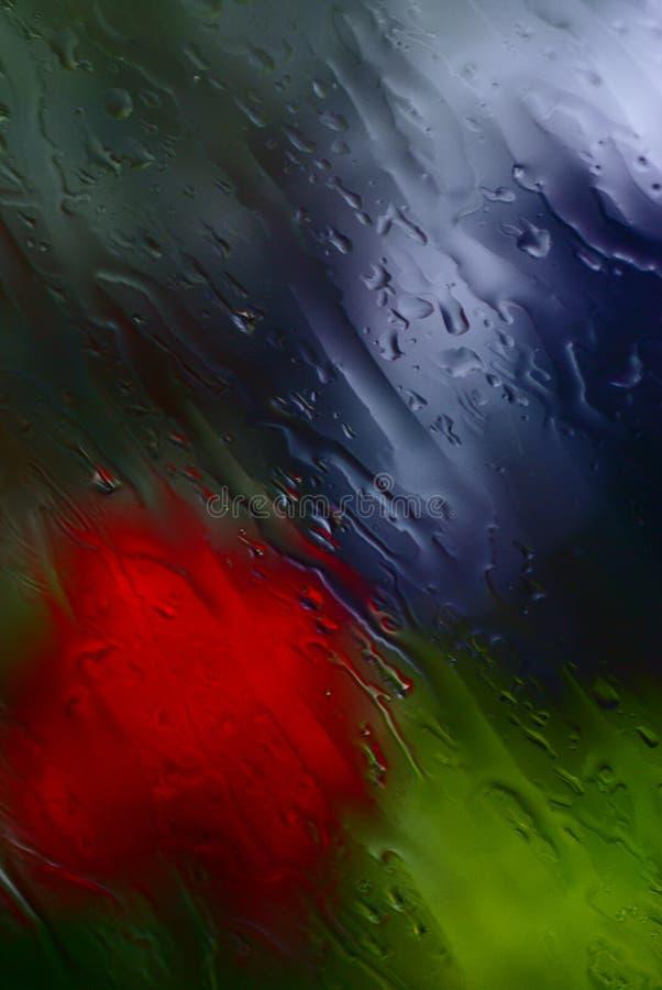 mokry okno zdjęcie stock