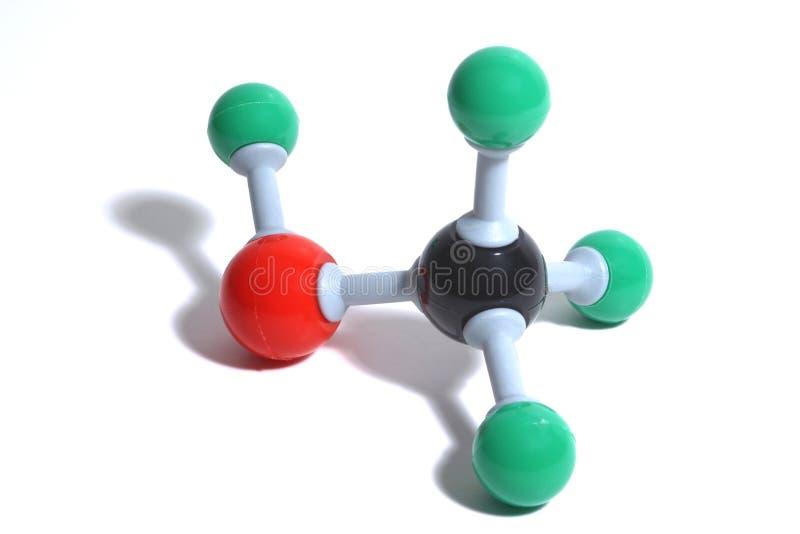 Molécula imagens de stock