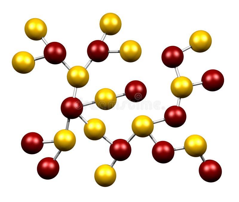 Molécula stock de ilustración