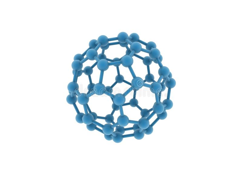 Molécula grande ilustración del vector