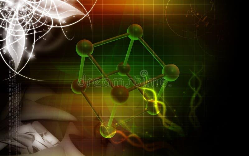 Moléculas libre illustration