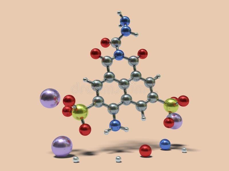 Moléculas divertidas - Lucifer Yellow libre illustration