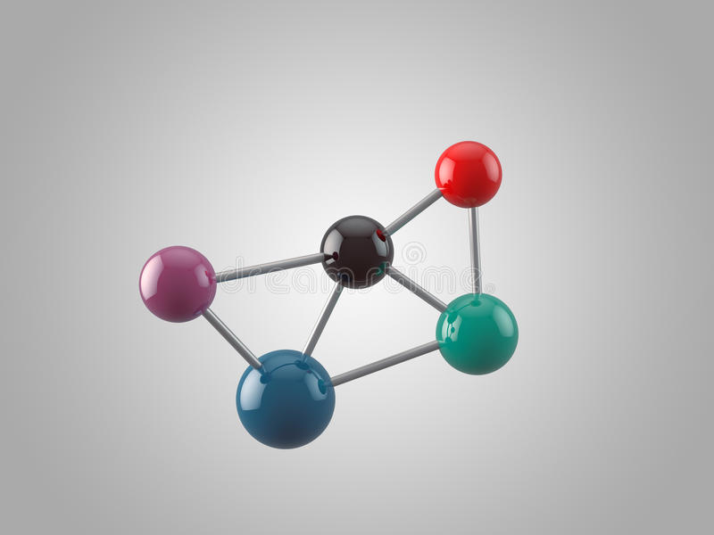 Download Molécule illustration stock. Illustration du laboratoire - 45351287