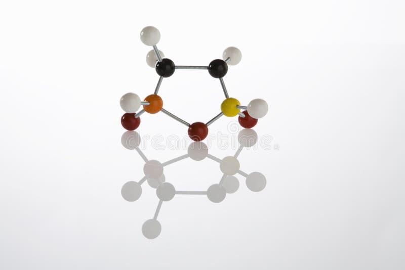 Molécule modèle photos stock
