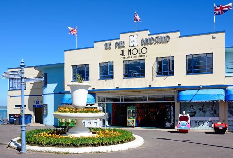 Mola Bandstand, Weymouth zdjęcie royalty free