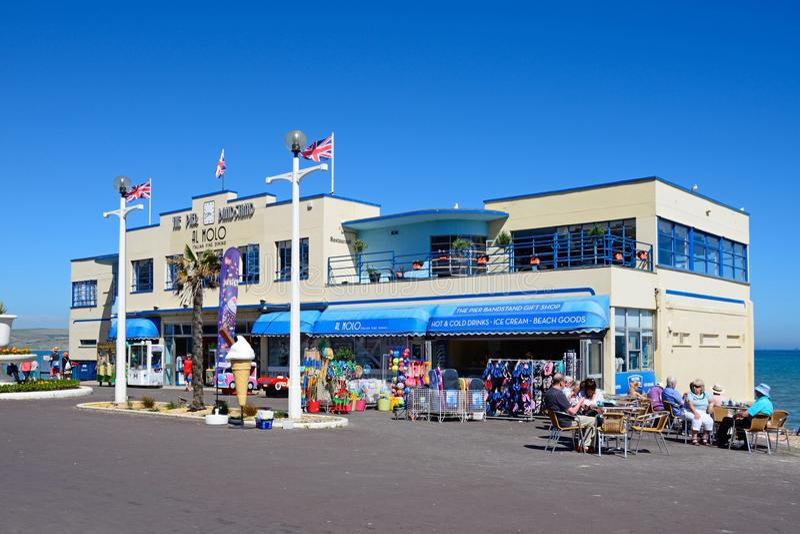 Mola Bandstand, Weymouth fotografia royalty free