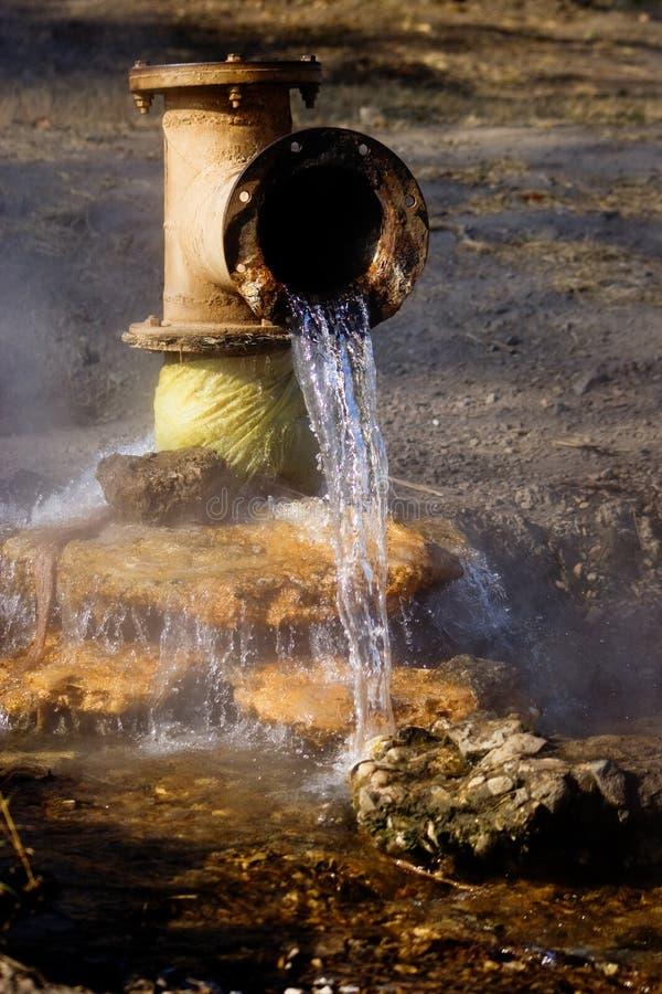 Mola de água quente fotografia de stock royalty free