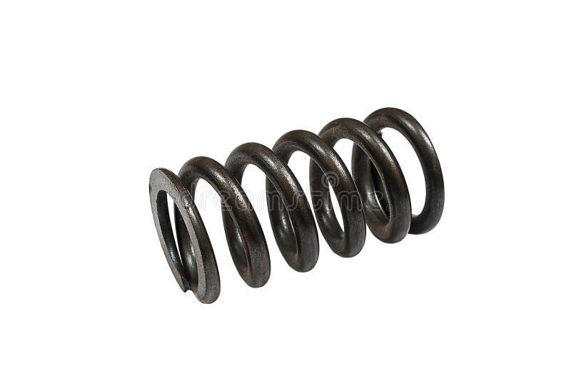 Mola de bobina isolada fotografia de stock