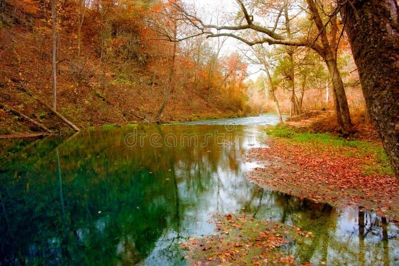 Mola do outono em missouri fotografia de stock royalty free