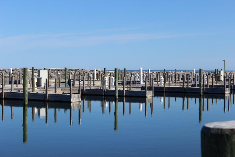 Mola Dziejowy Fishtown Leland, Michigan fotografia stock