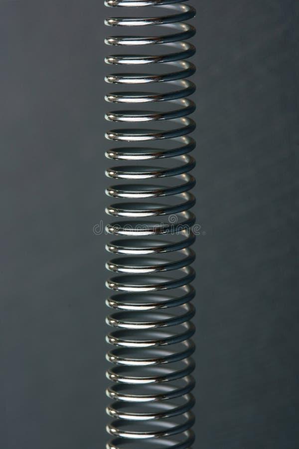 Mola espiral imagem de stock