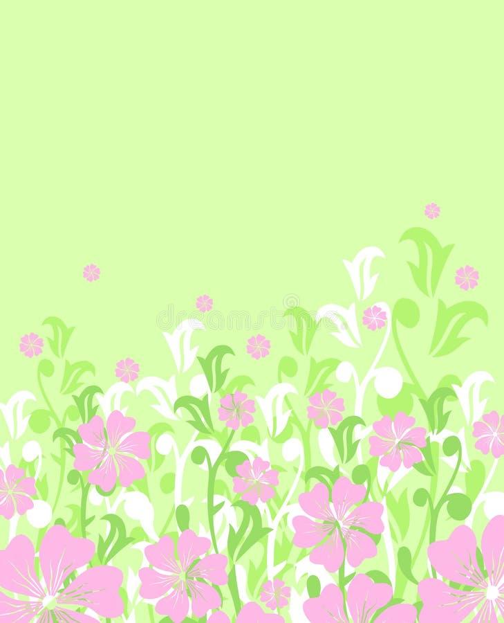 Mola floral ou fundo do verão/vetor ilustração do vetor