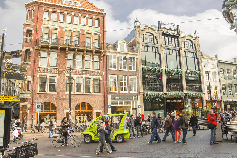 Mola na rua em Haia. Países Baixos imagens de stock royalty free