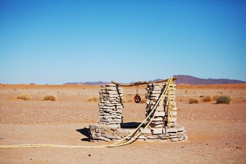Mola no deserto imagem de stock