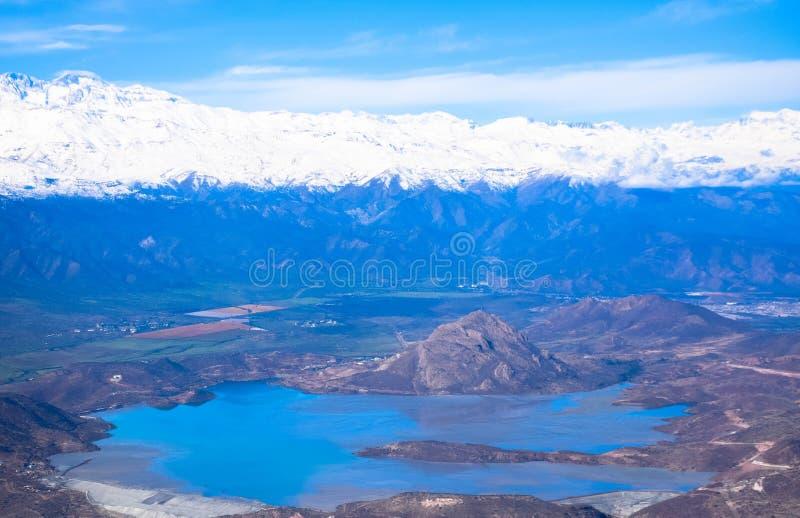 Mola quente nos Andes fotos de stock