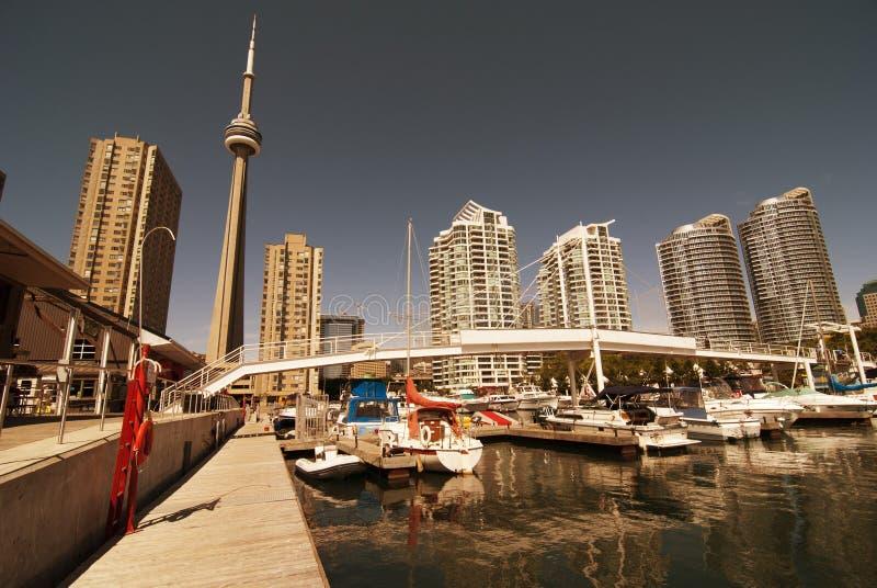 mola Toronto widok zdjęcie stock