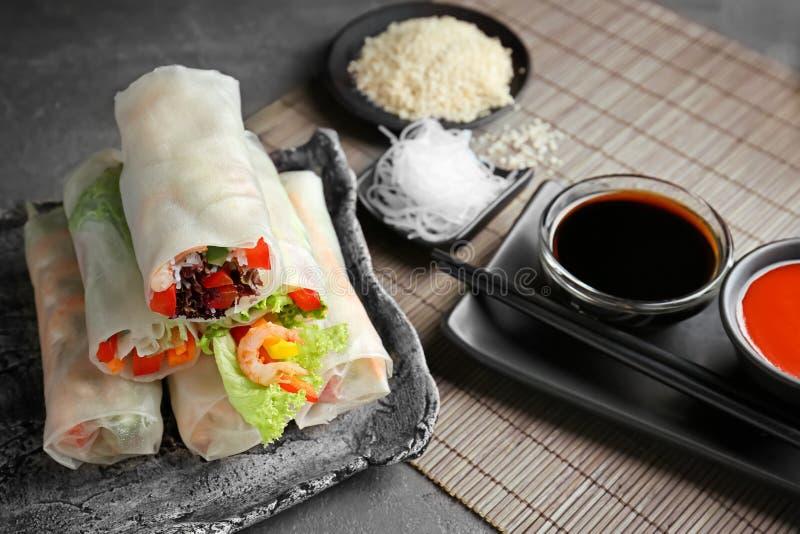 Mola vietnamiana fresca Rolls fotos de stock