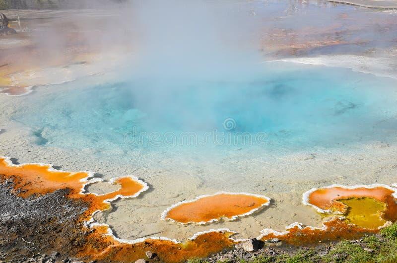 Mola Yellowstone do Silex imagem de stock