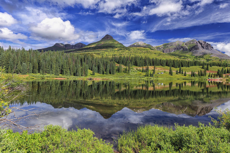 Molas Lake, Colorado royalty free stock photos
