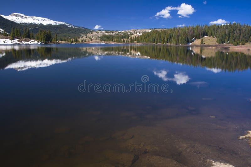 Molas Lake Reflections royalty free stock image