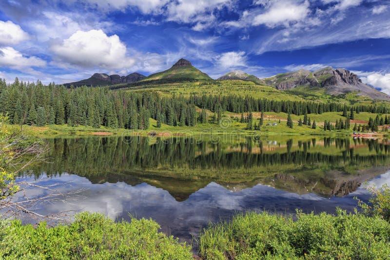 Molas sjö, Colorado royaltyfria foton