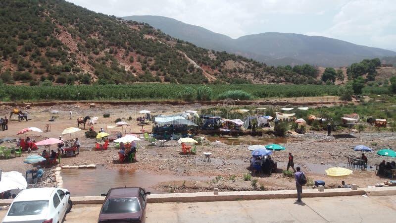 Molay Brahim c4marraquexe Marrocos imagens de stock
