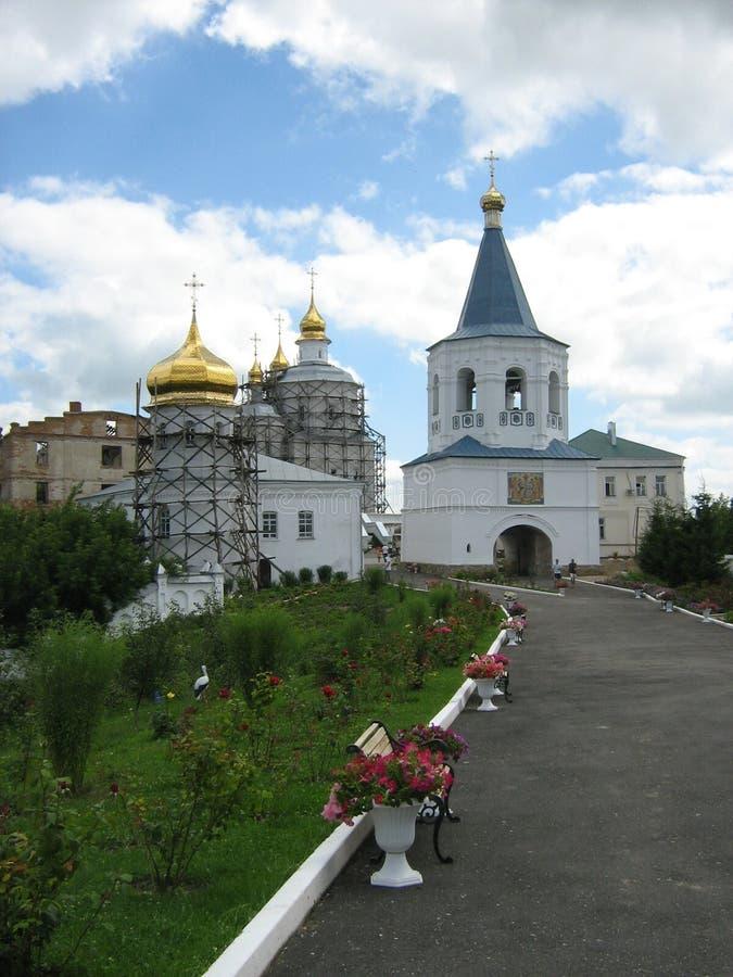 Molchansky monaster w Putivle fotografia stock