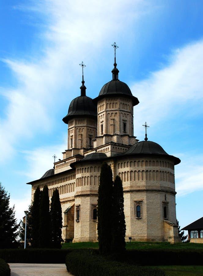 Moldavian Church stock photo