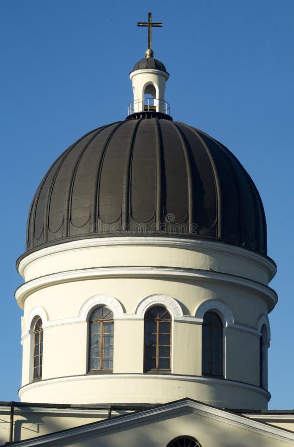 Moldavien kyrka - Chisinau royaltyfri bild