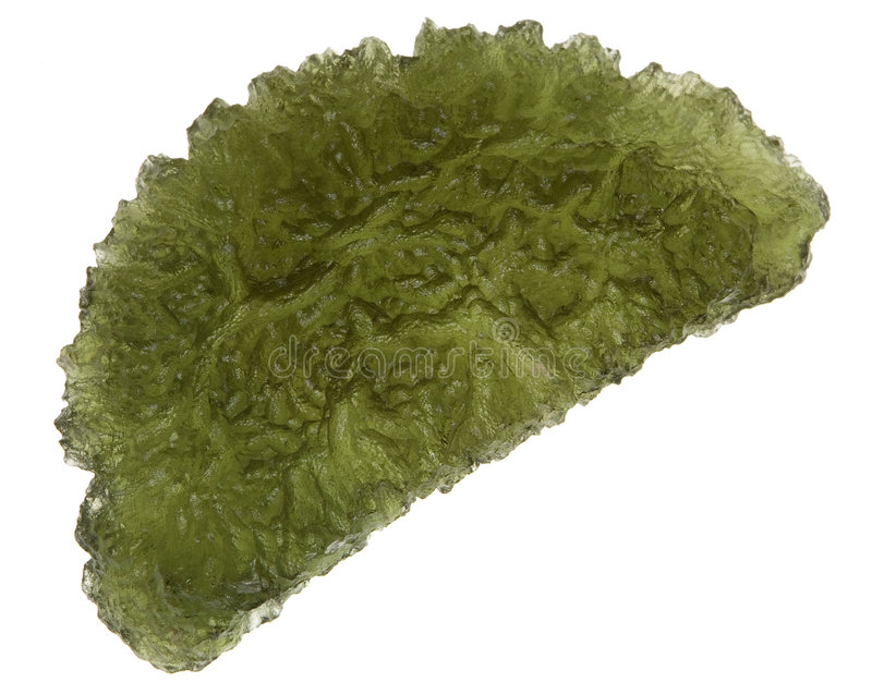 Moldavite photo stock