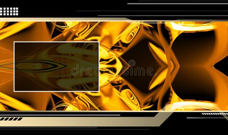 Molde alta tecnologia ilustração stock