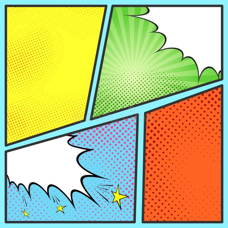 Molde cmico da folha da pgina do pop art ilustrao do vetor download molde cmico da folha da pgina do pop art ilustrao do vetor ilustrao de toneelgroepblik Image collections