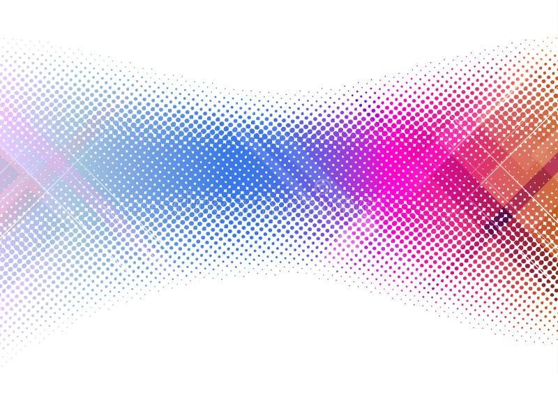Molde colorido creativo do fundo ilustração stock