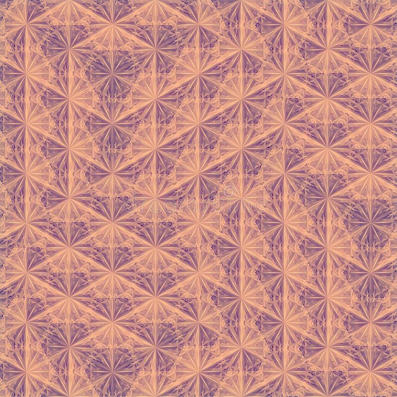 Molde colorido moderno para a concepção arquitetónica rendi??o 3d ilustração do vetor