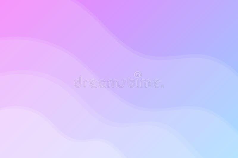 Molde criativo fluido do sumário Fundo moderno Projeto geométrico, líquidos, formas Estilo na moda Gráfico fluido geométrico ilustração do vetor