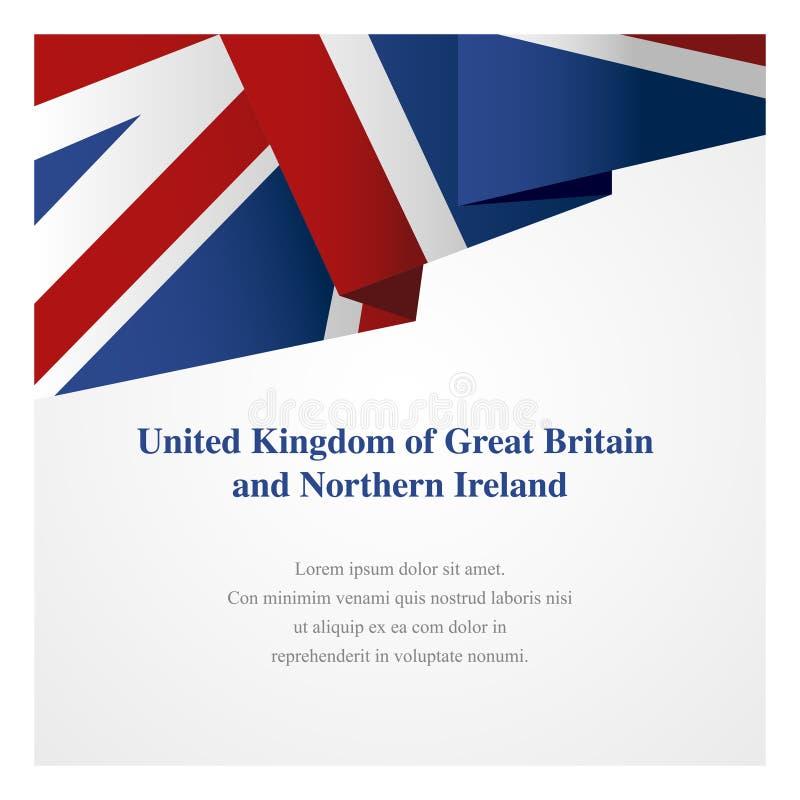 Molde das insígnias de Reino Unido ilustração stock
