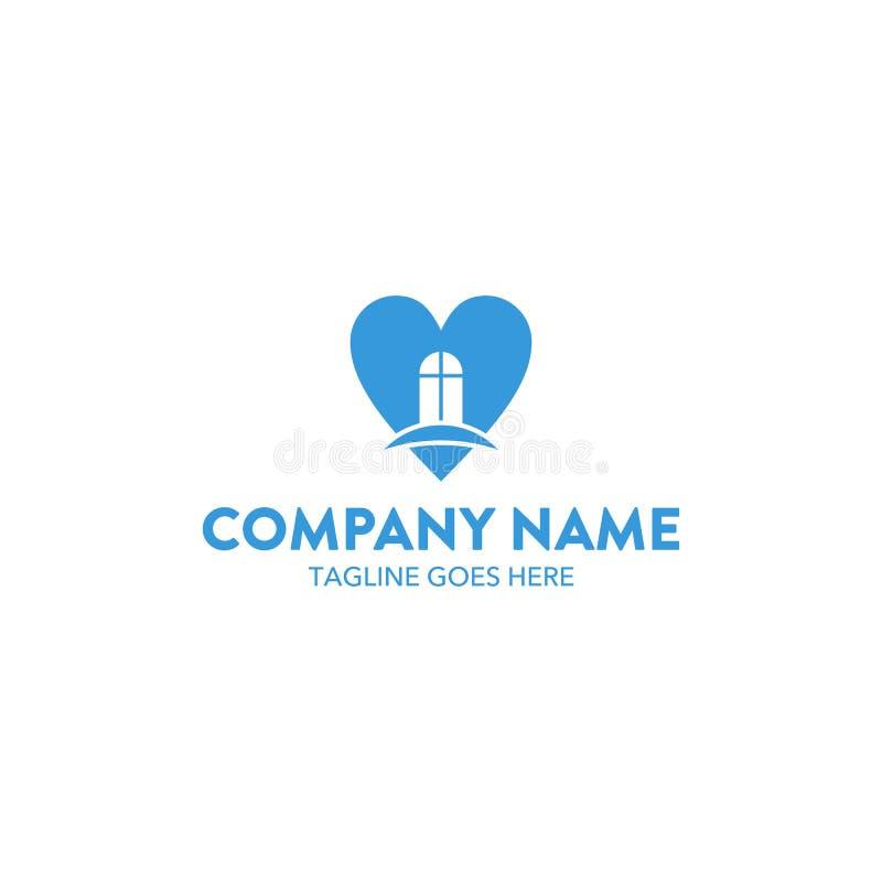 Molde datando original do logotipo Vetor editable ilustração royalty free