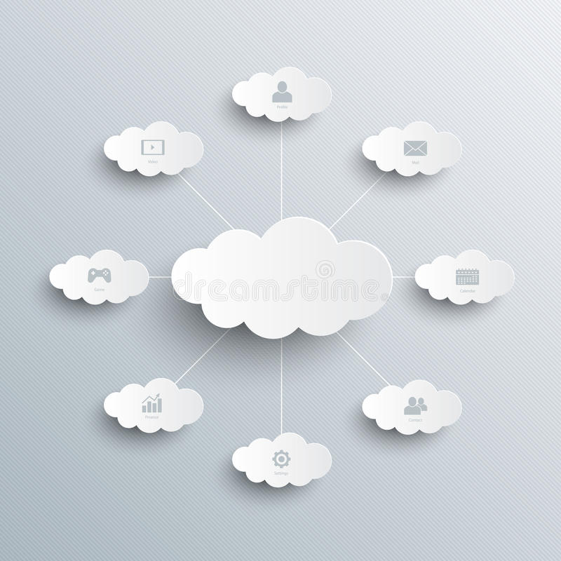 Molde de Infographic. O branco nubla-se o fundo