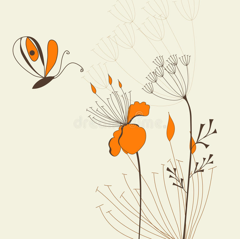 Molde decorativo para o cartão do presente ilustração do vetor