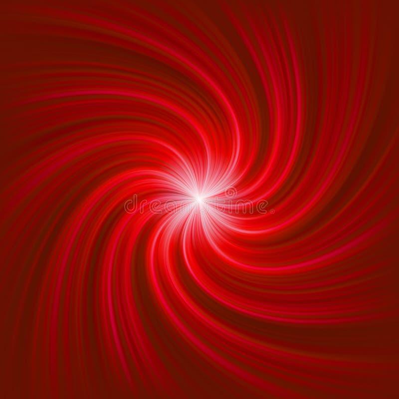 Molde do estouro da luz do Twirl. EPS 8 ilustração stock