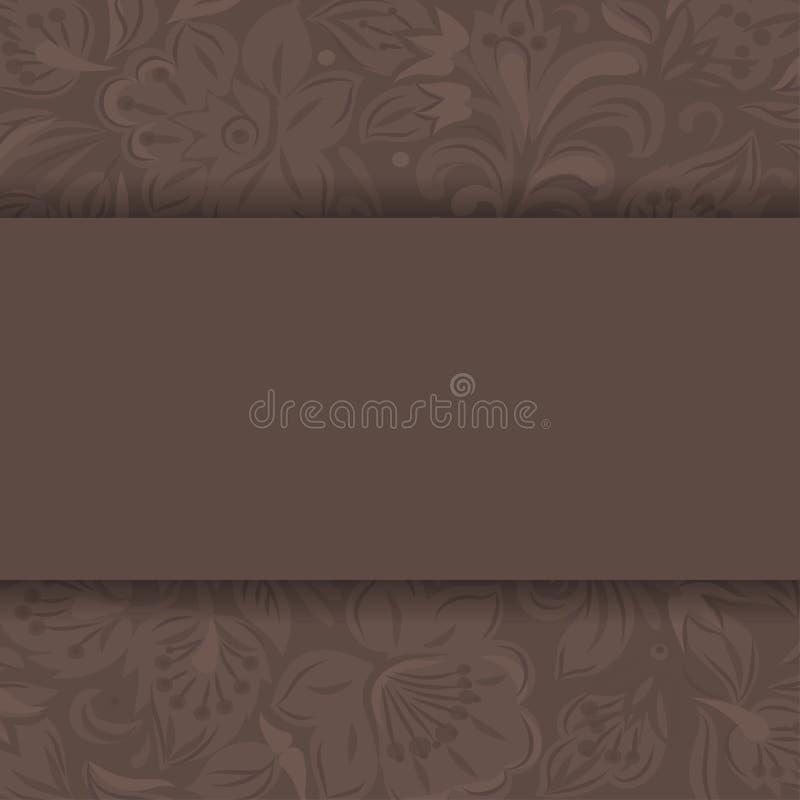 Molde do fundo da textura do pistilo da flor ilustração royalty free