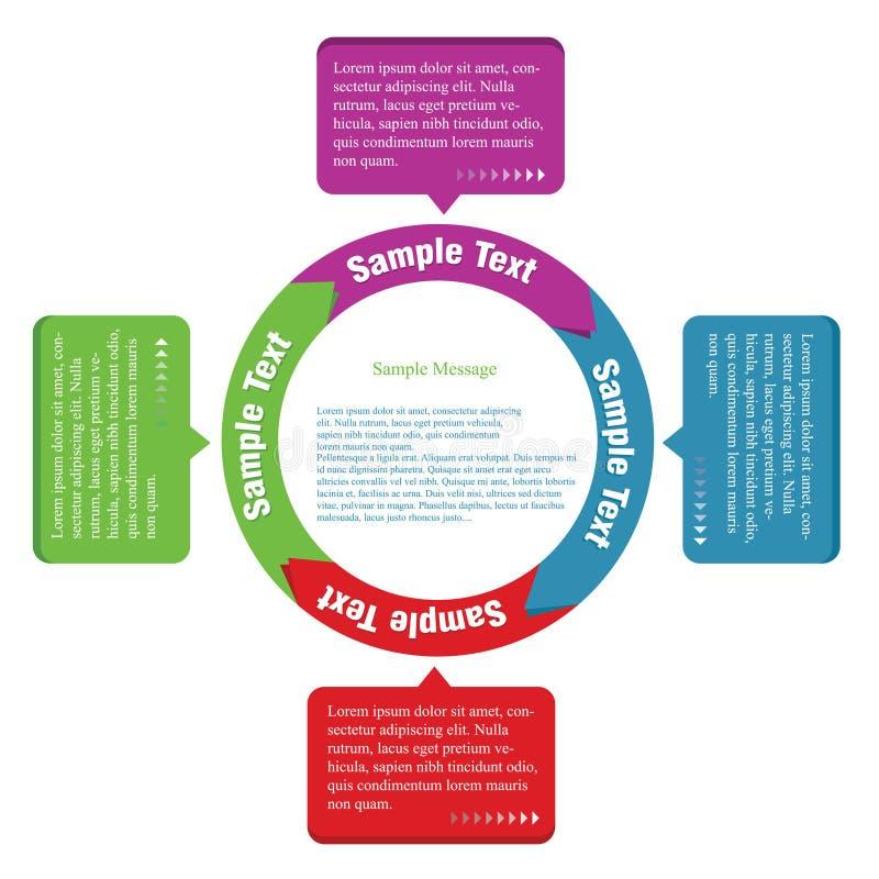 molde do Informação-gráfico ilustração do vetor