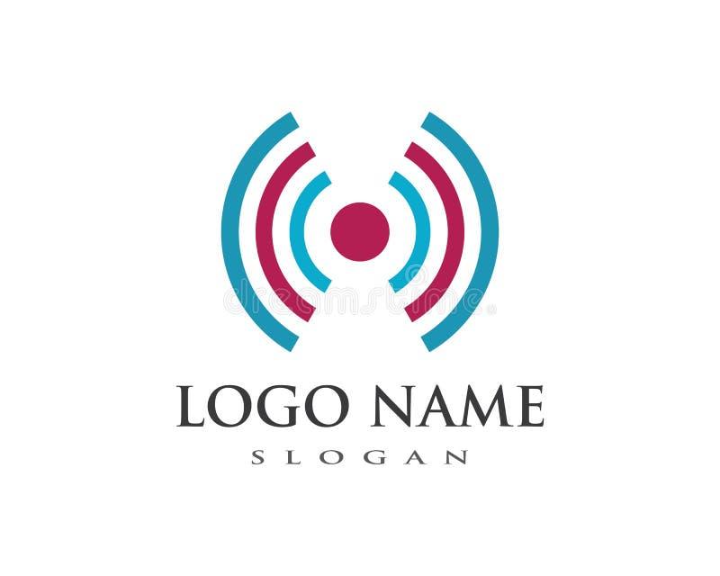 molde do logotipo da fiação ilustração royalty free